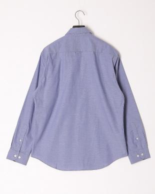 ライトブルー ストレッチピンオックスフォードボタンダウンシャツを見る