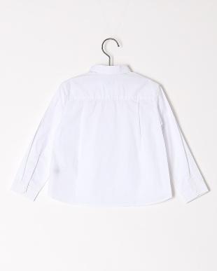 ホワイト ポケットツキタイプライターシャツジャケットを見る