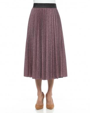 ピンクシルバー スカートを見る