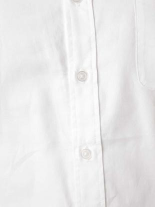 ホワイト オックスバンドカラ―シャツ a.v.v HOMMEを見る