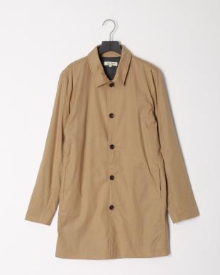 BEIGE 綿麻ストレッチステンカラーコートを見る