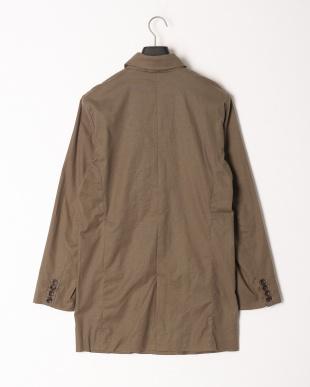 LT.OLIVE 綿麻ストレッチステンカラーコートを見る