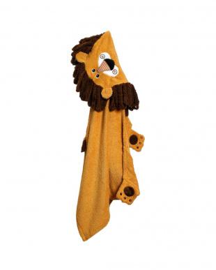 ライオン フード付タオルを見る