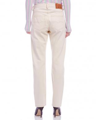 オフホワイト REEN L.32 PANTALONI パンツを見る