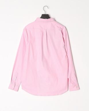 ピンク ストレッチオックスブロッキング長袖シャツを見る