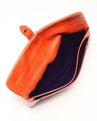 オレンジ 本革IPADケースを見る