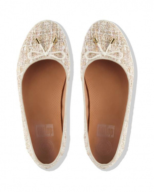 Dusky Pink SUPERCHIC BALLERINAS - LUXE-TWEEDを見る