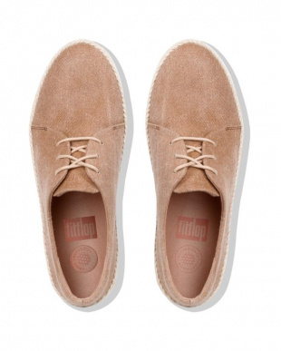 Beige Shimmer-denim SUPERDERBY LACE UP SHOES - SHIMMER-DENIMを見る