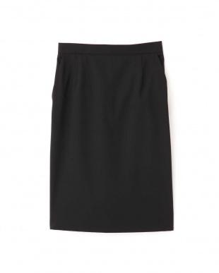 ブラック T/Wハンドウォッシャブルセットアップスカート BOSCHを見る