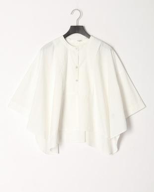90/無彩色A(ホワイト) 綿100% Aライン ドレスシャツを見る
