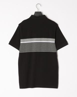 COTTON BLACK ESS+ ストライプポロシャツを見る