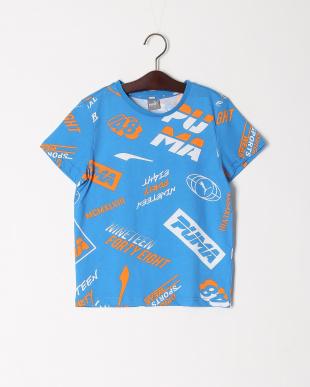 INDIGO BUNTING/PUMA WHITE  ALPHA SS AOP Tシャツ 2点セットを見る