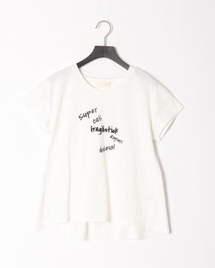 オフホワイト ロゴバックフレアTシャツを見る