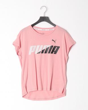 BRIDAL ROSE/PUMA WHITE  MODERN SPORTS グラフィック SS Tシャツ 2点セットを見る
