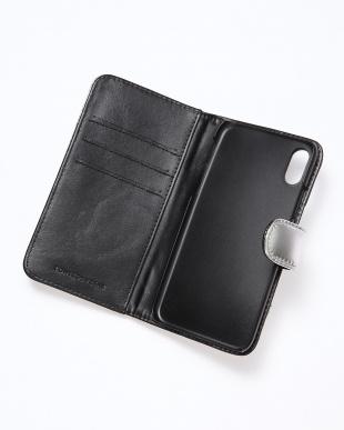 BLACK スターステッチiPhoneXケースを見る