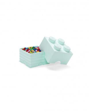 アクアライトブルー LEGO ストレージブリック 4を見る