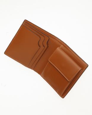 オレンジ 折り財布を見る