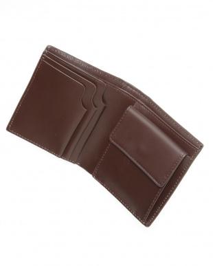 ダークグレー 折り財布を見る