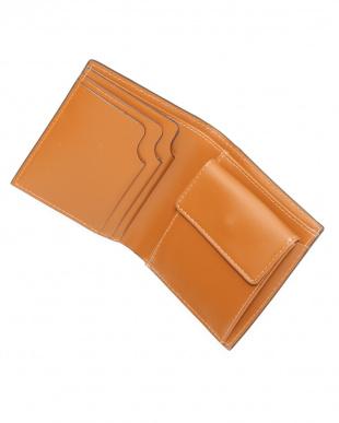 ベージュ 折り財布を見る