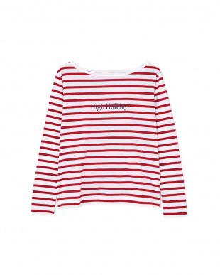 レッド マリンボーダーロゴTシャツ PINKY & DIANNEを見る