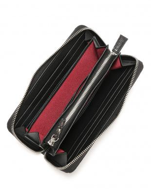 ブラック クロコダイルレザー ラウンドジップ 長財布を見る