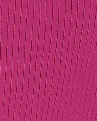 ピンク リブハイネックP/Oを見る