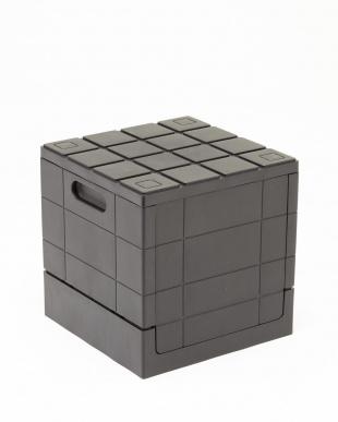 ブラック グリッドコンテナー キューブ 4ケセットを見る