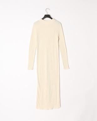 WHITE RIB DRESSを見る