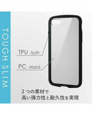 ブラック 「iPhone 8ケース」 耐衝撃/ストラップ付ホール/ワイヤレス充電対応を見る