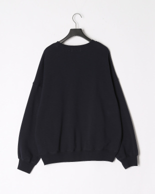 NAVY APPLIQUE SWEAT TOPを見る
