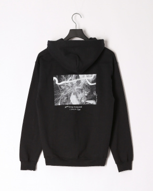 BLACK X-girl × Charles Peterson PHOTO SWEAT HOODIEを見る