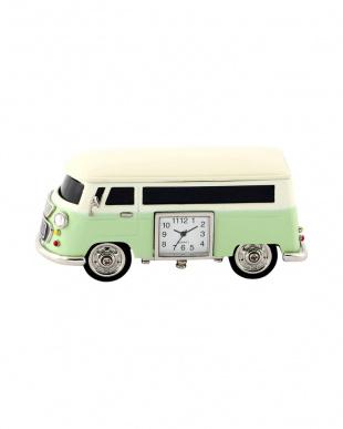 グリーン バス ミニチュアクロックを見る