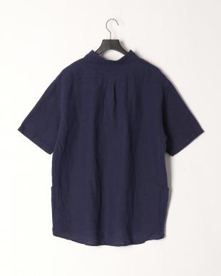 ネービー アサ100プルオーバーシャツを見る