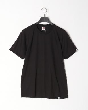ブラック カジュアルTシャツ クルーネック 吸水速乾 3点セットを見る