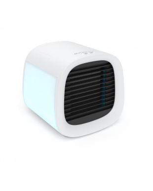 White 冷却・加湿・空気清浄  身体にも地球にも優しいパーソナルクーラー evaCHILLを見る