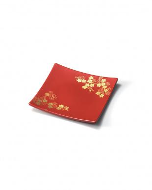 紅桜 スクエアプレート2個セット(赤S)を見る