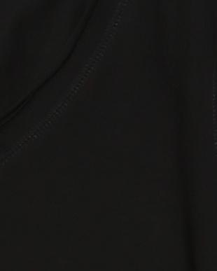 ブラック カールデザイン Vネックトップスを見る