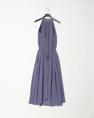 BLU ポルターネックアシンメトリードレスを見る