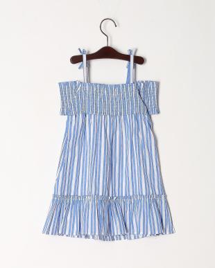 ブル-  CANDY STRIPE DRESSを見る