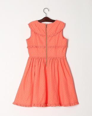 オレンジ  THREE RUFFLES DRESSを見る