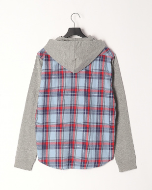 LT BLUE/BLUE/RED CHECK Shirtsを見る