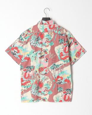 BROWN/RED/GREEN HAWAIIAN PRINT Shirtsを見る