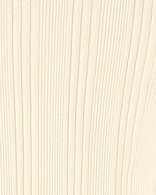 ホワイト ランダムテレコ クルーネックTシャツを見る