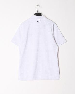 ホワイト ボタンダウン半袖シャツを見る