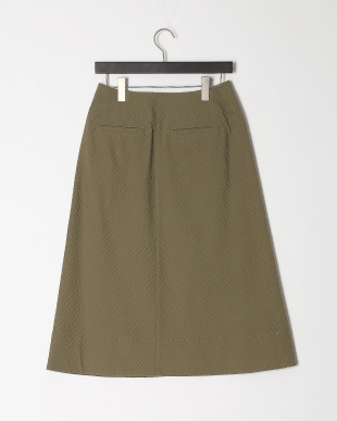 カーキ Aラインロングスカートを見る