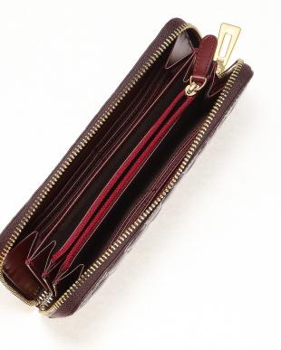 ライトブラウン クロコダイル本革長財布(ラウンドファスナー)を見る