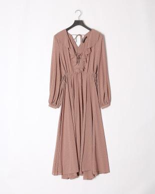 PINKBEIGE 19SS KJ 1ST dot design long dressを見る