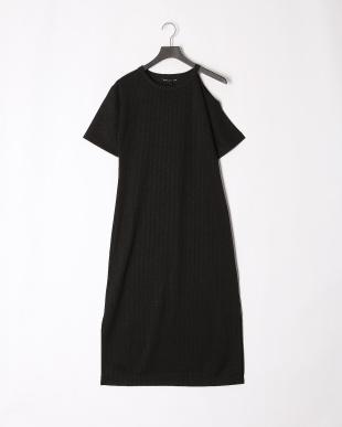 BLACK 19SS KJ 1ST open shoulder long dressを見る