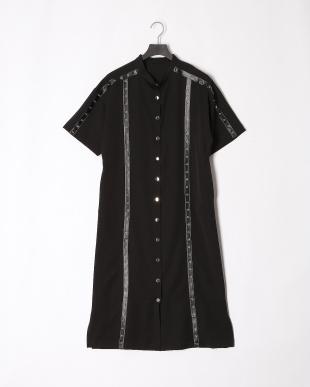BLACK 19SS KJ 1ST studs line long dressを見る