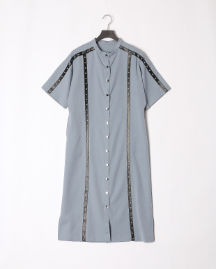 BLUE 19SS KJ 1ST studs line long dressを見る